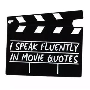 Other - 📍5/25 Enamel Pin I Speck Fluently in Movie Quotes